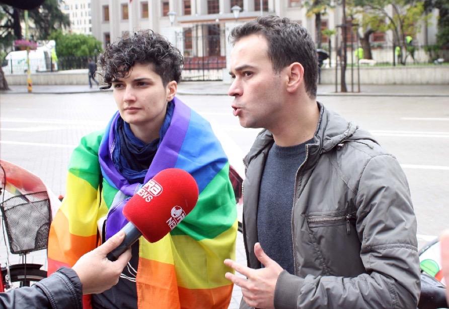 Albanian gay men