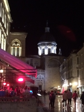 The Stradun by night
