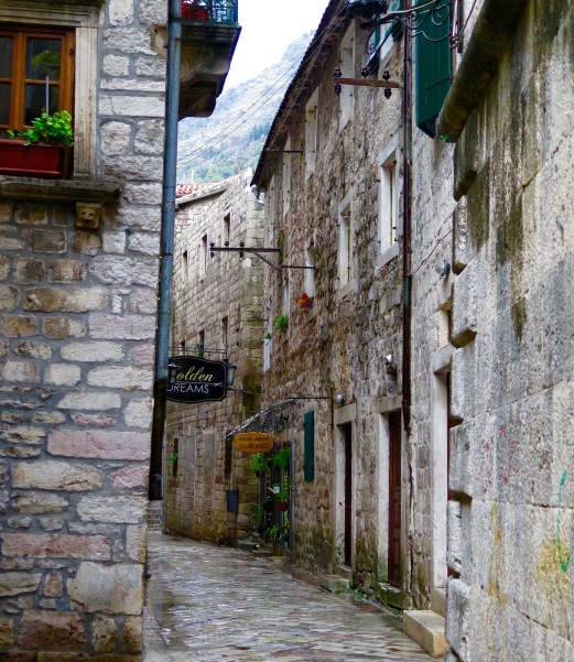 Kotor streets