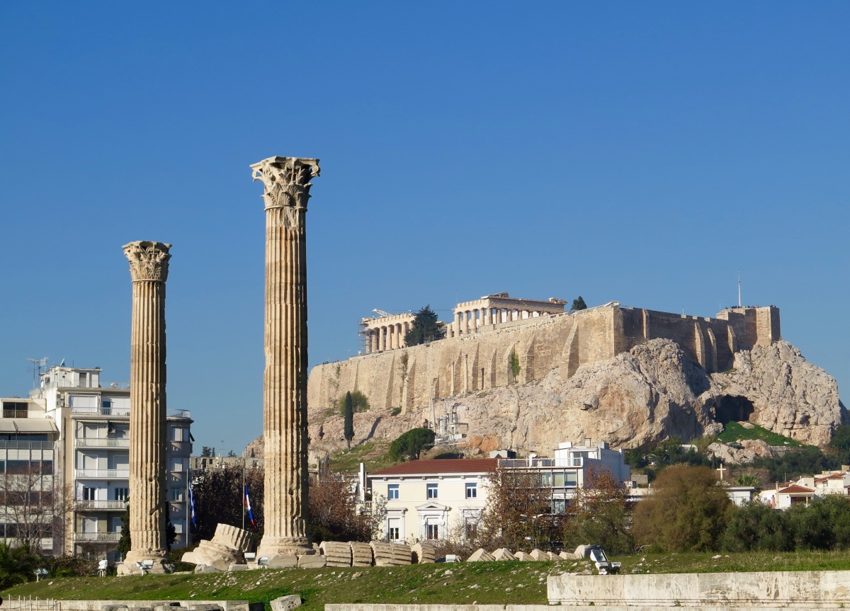 Places I've Visited:  Athens & Aegina, Greece