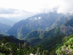 Our first inkling of how spectacular the Accursed Mountains can be