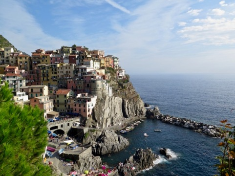 We hiked to Manarola, probably the most picturesque of the villages.