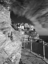 Manarola at the end of the day.