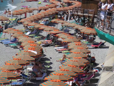 Monterosso is the largest and most resort-like of the villages and the only one with a sand beach.