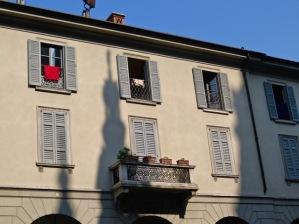 Street scene in Como.