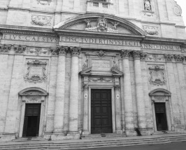 From the outside, Renaissance churches look like banks...
