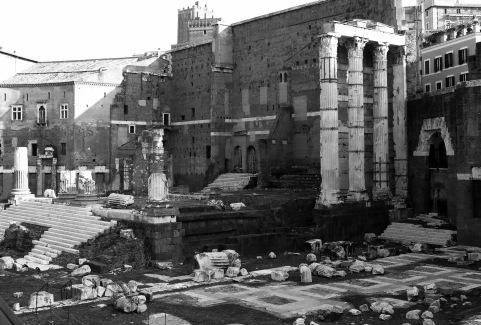 Excavation sites around every corner. This is the Forum of Nerva.