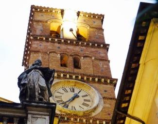 The church of Santa Maria in Trastevere.